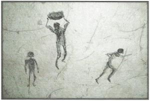 Neolithic cave drawing of Tag